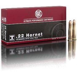 RWS .22 Hornet 3,0g TML 2116375 Golyós Lőszer