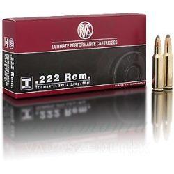RWS .222R 3,2g TML 2116405 Golyós Lőszer