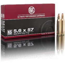 RWS 5,6x57 4,8g KS 2116715 Golyós Lőszer