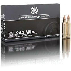RWS .243W 6,2g KS 2116812 Golyós Lőszer