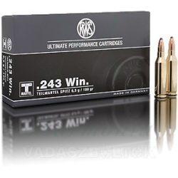 RWS .243W 6,5g TML 2116871 Golyós Lőszer