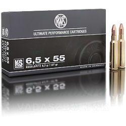 RWS 6,5x55 8,2g KS 2117002 Golyós Lőszer