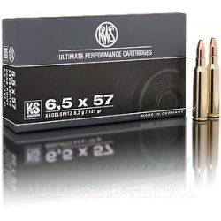 RWS 6,5x57 8,2g KS 2117096 Golyós Lőszer