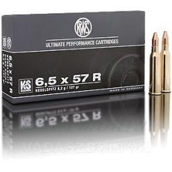 RWS 6,5x57R 8,2g KS 2117150 Golyós Lőszer