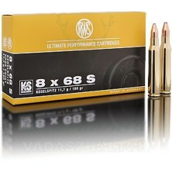 RWS 8x68S 11,7g KS 2118149 Golyós Lőszer