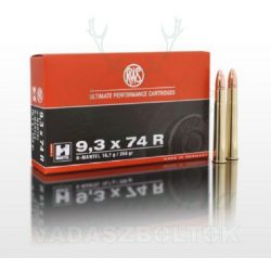 RWS 9,3x74R 16,7g HML 2118262 Golyós Lőszer