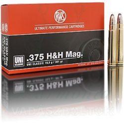 RWS .375 HH 19,5g UNI 2118378 Golyós Lőszer