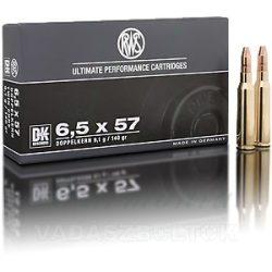 RWS 6,5x57 9,1g DK 2314352 Golyós Lőszer