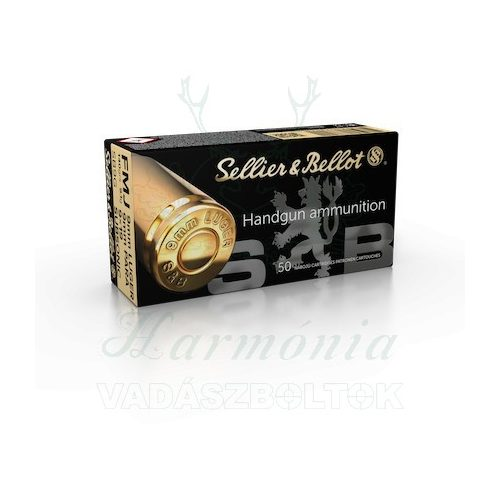 Sellier & Bellot 9 Luger Subsonic FMJ 9,1g V310552