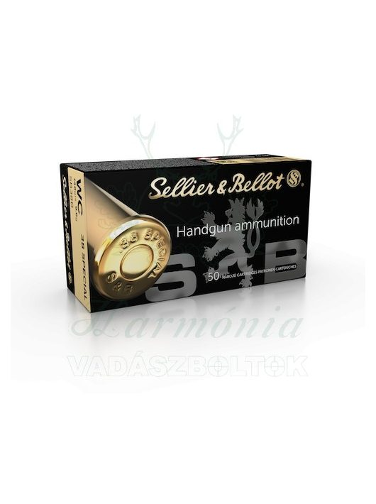 Sellier & Bellot .38 Special WC 9,6g V311002