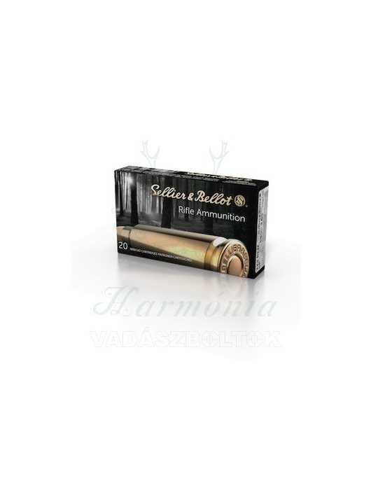 Sellier & Bellot .222 Rem FMJ 3,2g 2902 V330102 Golyós Lőszer