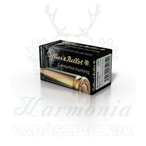 Sellier & Bellot .30 Carbine. FMJ 7,1g 2960 V332652 Golyós Lőszer