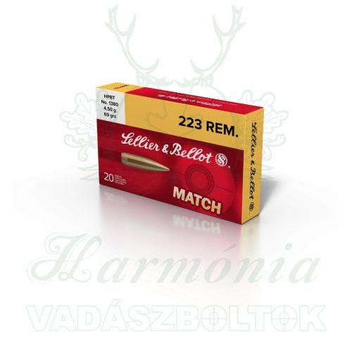 Sellier & Bellot .223 Rem HPBT 4,5g 1380B V332852 Golyós Lőszer