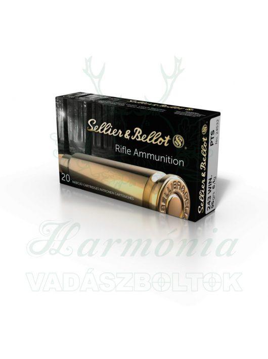 Sellier & Bellot .243W PTS- Hornady 6,1g 24532 V330782 Golyós Lőszer