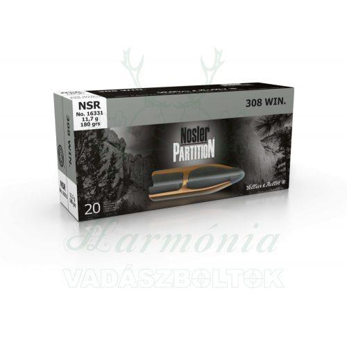 Sellier & Bellot .308W NSR Nosler 11,7g 16331 V340272 Golyós Lőszer