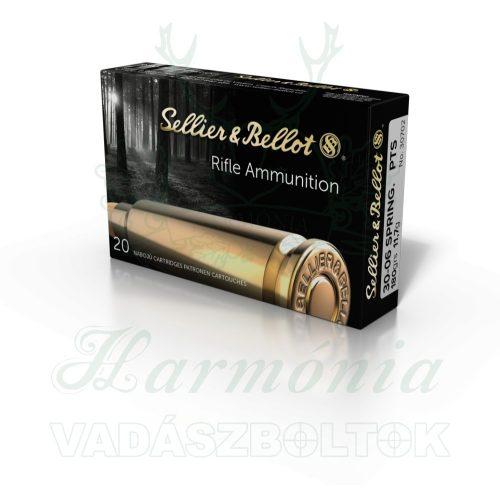 Sellier & Bellot .30-06 PTS Hornady 11,7g 30702 V331742 Golyós Lőszer