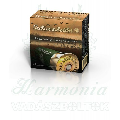 Sellier & Bellot 12/70 Magnum 3,0mm 42,5g V105552 Sörétes Lőszer