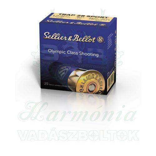 Sellier & Bellot 12/70 Trap Sport 28g, 2,41mm V001722 Sörétes Lőszer