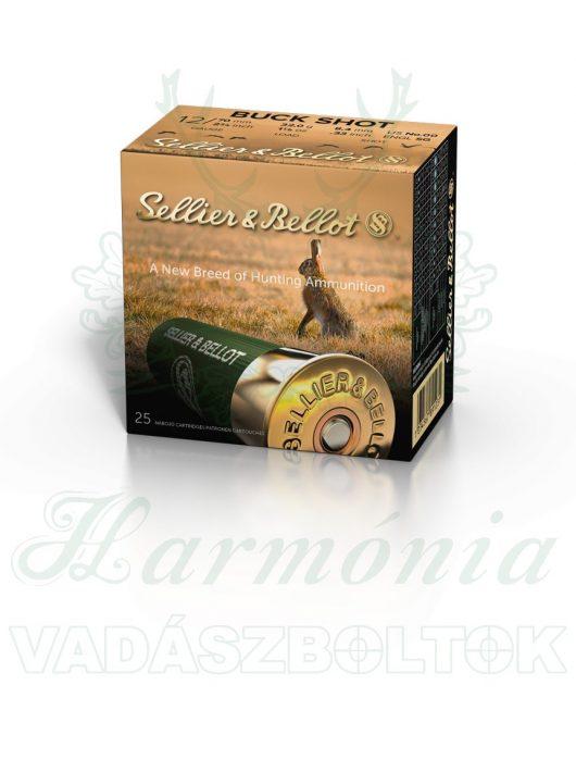 Sellier & Bellot 12/70 Buck Shot, 6,09mm Sörétes Lőszer