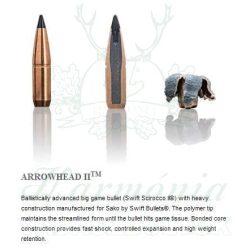 Sako .308W 11,7g 408A Arrowhead II Golyós Lőszer