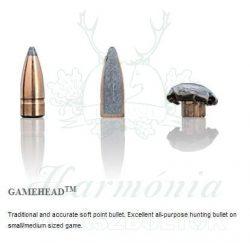 Sako 8x57JS 9,7g 120F Gamehead Golyós Lőszer