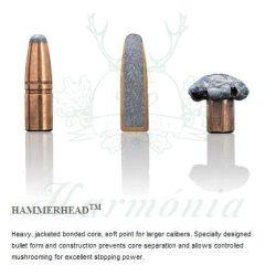 Sako 9,3x62 18,5g 266D Hammerhead Golyós Lőszer