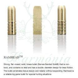 Sako 9,3x66 18,5g 501D Ramhead Golyós Lőszer