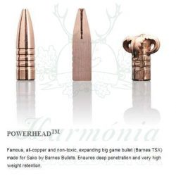 Sako .375HH 17,5g 478D Powerhead Golyós Lőszer