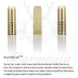 Sako .375HH 17,5g 502D Ramhead Golyós Lőszer
