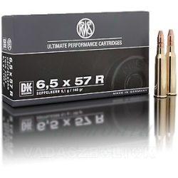 RWS 6,5x57R 9,1g DK 2117118 Golyós Lőszer