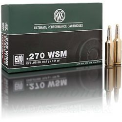 RWS .270WSM 6,2g EVO Green 2318863 Golyós Lőszer