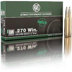 RWS .270W 6,2g EVO Green 2318862 Golyós Lőszer