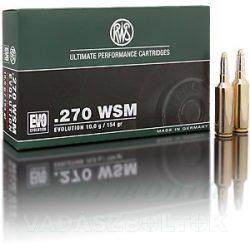 RWS .270WSM 8,4g HIT 2319206 Golyós Lőszer