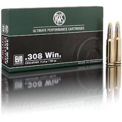 RWS .308W 11,9g EVO 2315434 Golyós Lőszer