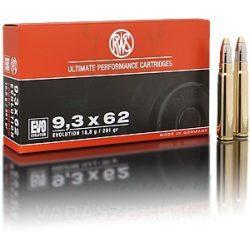 RWS 9,3x62 18,8g EVO 2315436 Golyós Lőszer