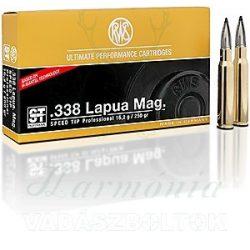 RWS .338 Lap.Mag.Speed Tip Pro 2403863 Golyós Lőszer