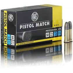 RWS .22LR Pistol Match 2132443 Golyós Lőszer