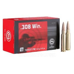 Geco .308W 11,0g Target 50/doboz 2123479 Golyós Lőszer