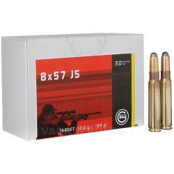 Geco 8x57JS 12.0gr Target 2123487 Golyós Lőszer