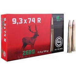 Geco 9,3x74R Zero 11,9 gr 2318951 Golyós Lőszer