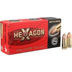 Geco 9mmLuger Hexag.8g 2318840