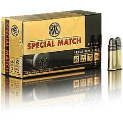 RWS .22LR Special Match 2134233 Golyós Lőszer