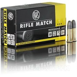 RWS .22 LR Match 2134225 Golyós Lőszer