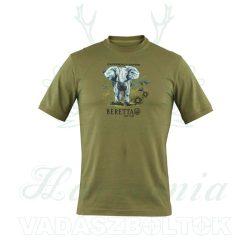 Beretta  Póló Safari Elefánt  /XL/ TS112